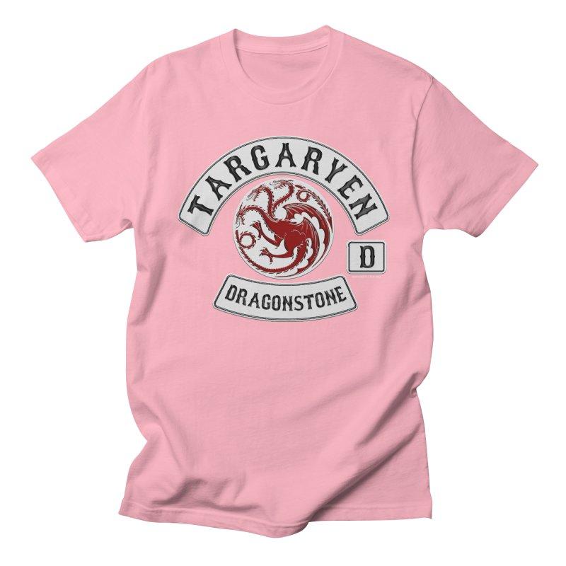 House Targaryen Biker patch Women's Unisex T-Shirt by doombxny's Artist Shop