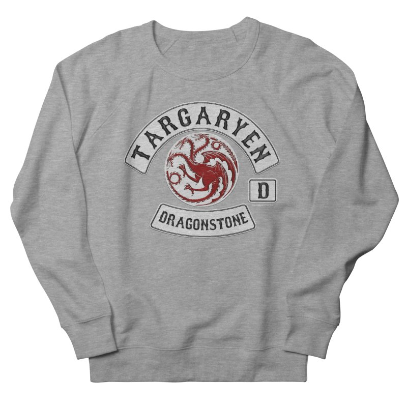 House Targaryen Biker patch Men's Sweatshirt by doombxny's Artist Shop