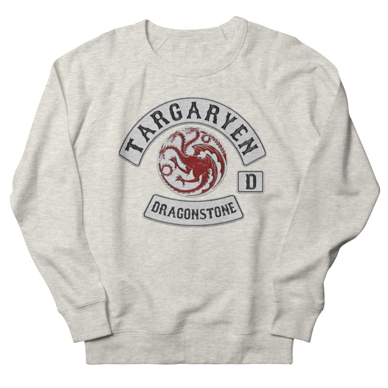 House Targaryen Biker patch Men's Sweatshirt by doombxny's Artist Shop
