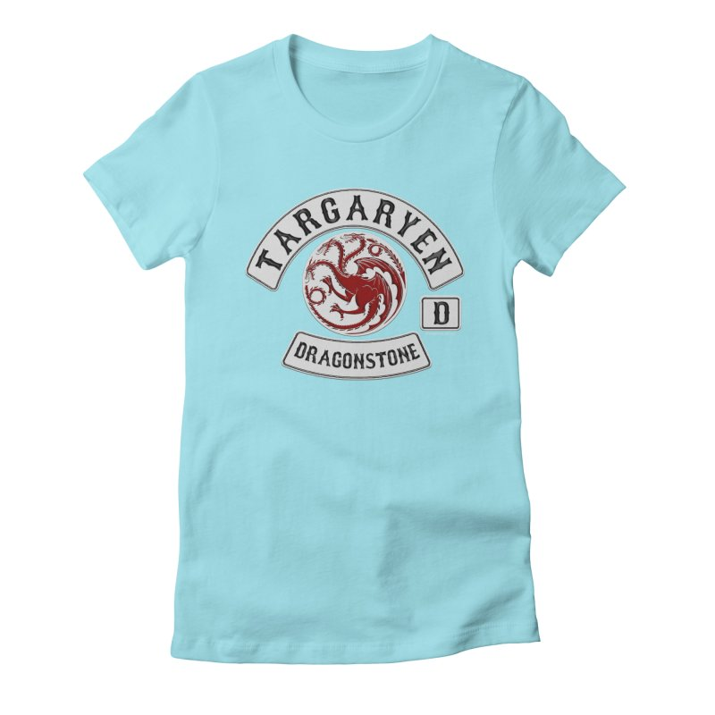 House Targaryen Biker patch Women's T-Shirt by doombxny's Artist Shop