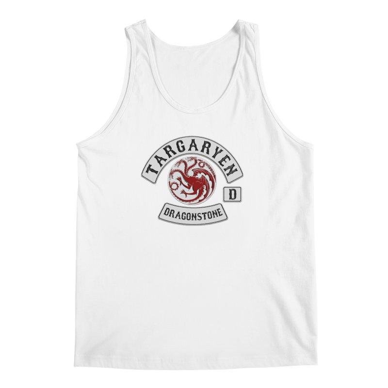 House Targaryen Biker patch Men's Tank by doombxny's Artist Shop