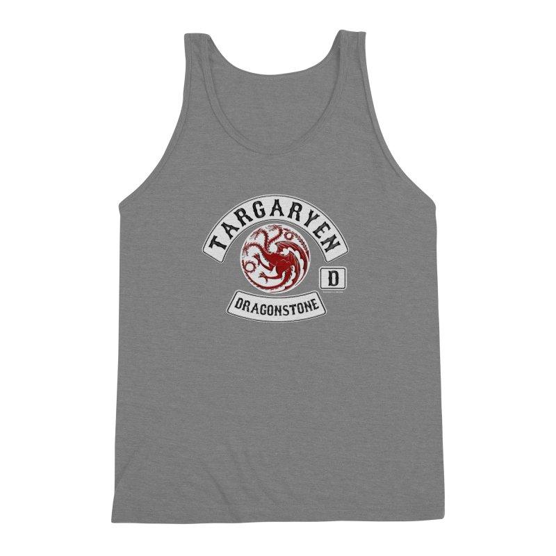 House Targaryen Biker patch Men's Triblend Tank by doombxny's Artist Shop