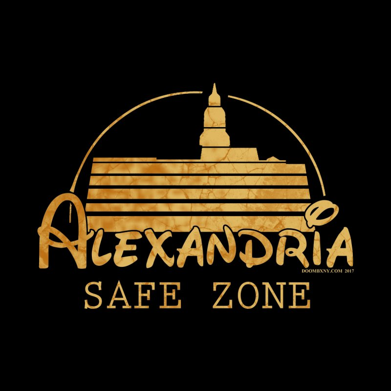 Alexandria Safe Zone Kids Baby Zip-Up Hoody by doombxny's Artist Shop