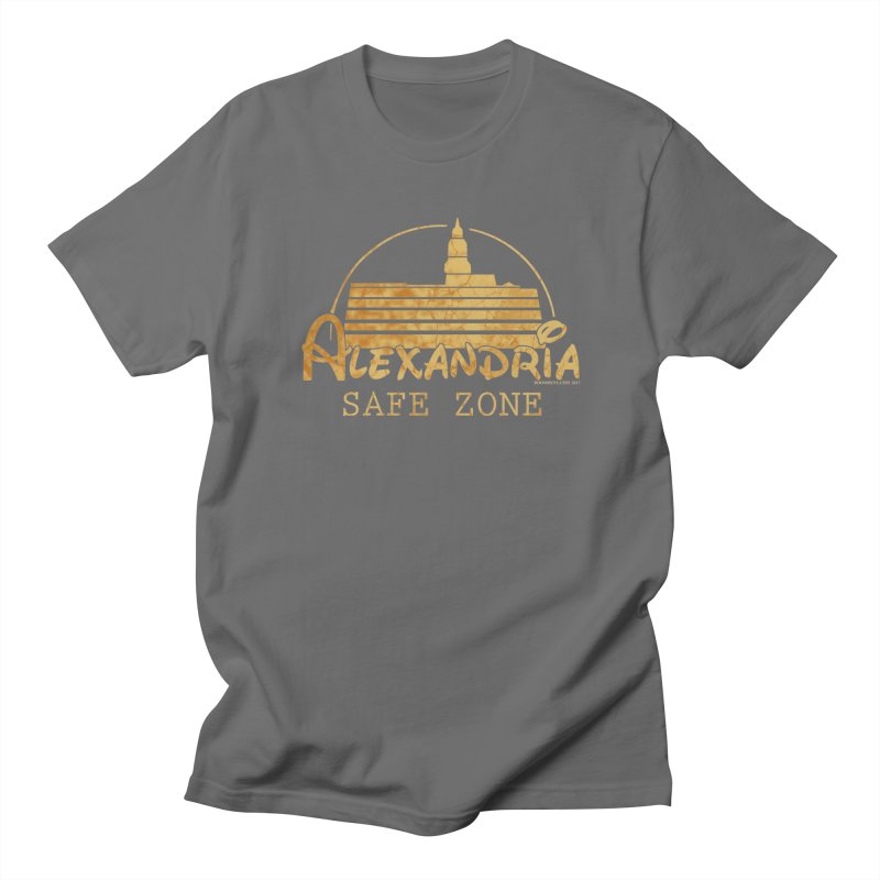Alexandria Safe Zone Men's T-Shirt by doombxny's Artist Shop