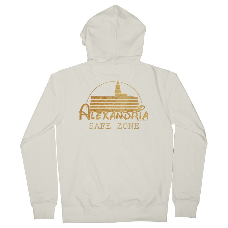 Alexandria Safe Zone Women's French Terry Zip-Up Hoody by doombxny's Artist Shop