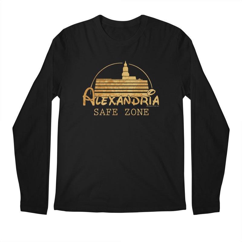 Alexandria Safe Zone Men's Regular Longsleeve T-Shirt by doombxny's Artist Shop