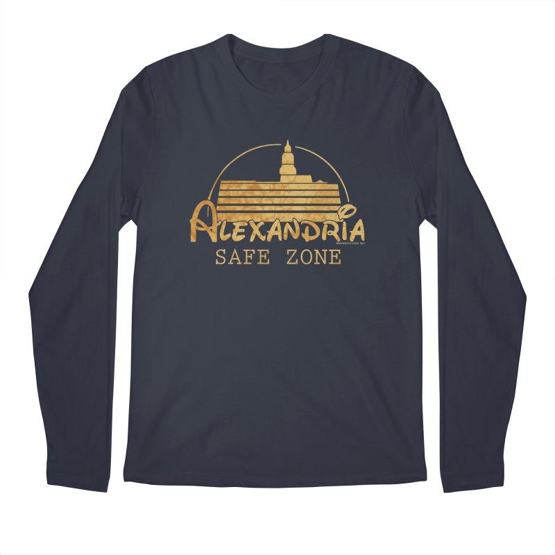 Alexandria Safe Zone Men's Longsleeve T-Shirt by doombxny's Artist Shop