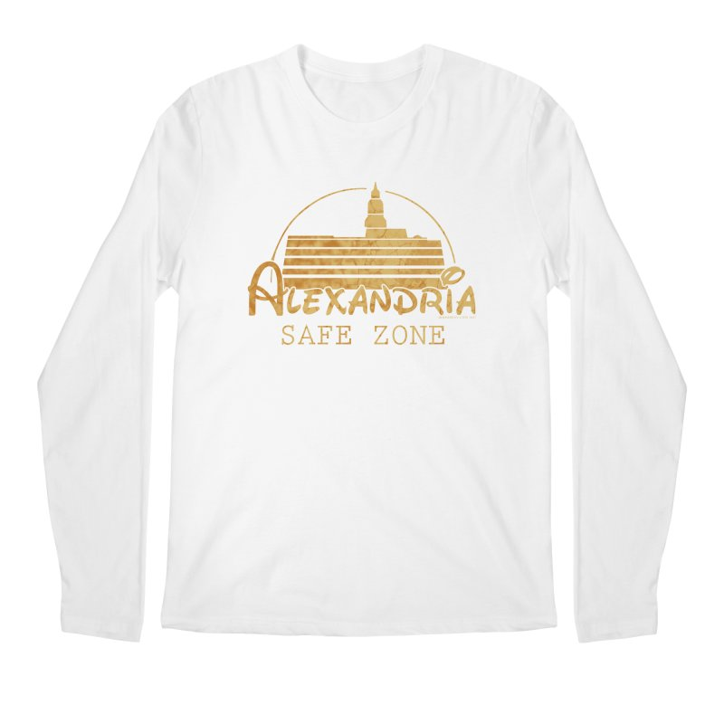 Alexandria Safe Zone Men's Longsleeve T-Shirt by doombxny's Artist Shop