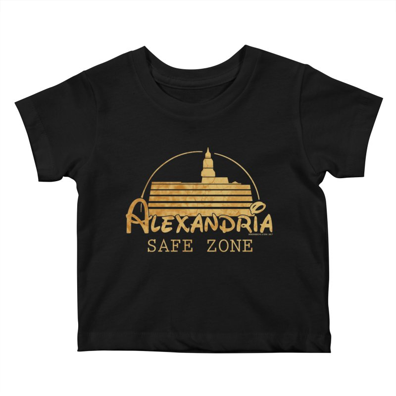 Alexandria Safe Zone Kids Baby T-Shirt by doombxny's Artist Shop