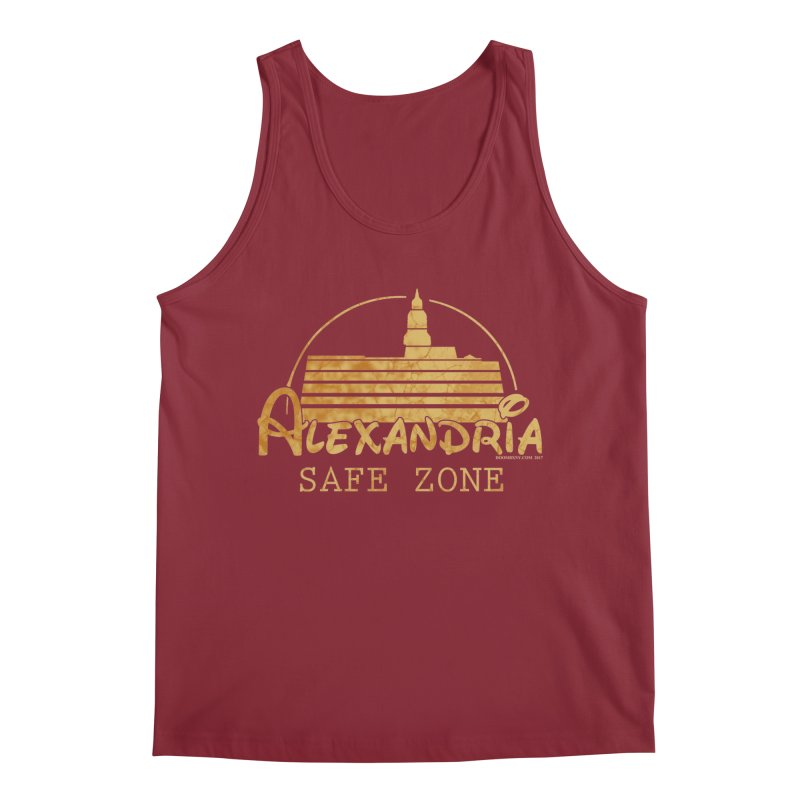 Alexandria Safe Zone Men's Tank by doombxny's Artist Shop