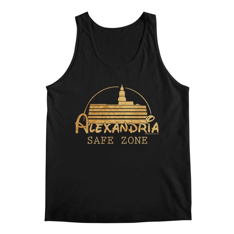 Alexandria Safe Zone Men's Tank by doombxny's Artist Shop
