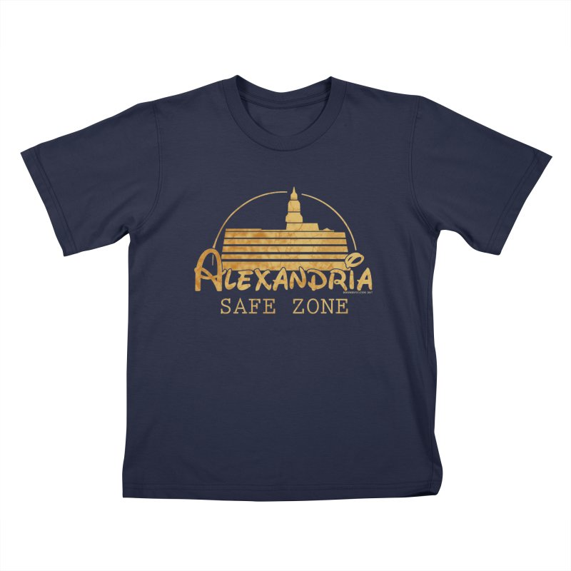 Alexandria Safe Zone Kids T-Shirt by doombxny's Artist Shop