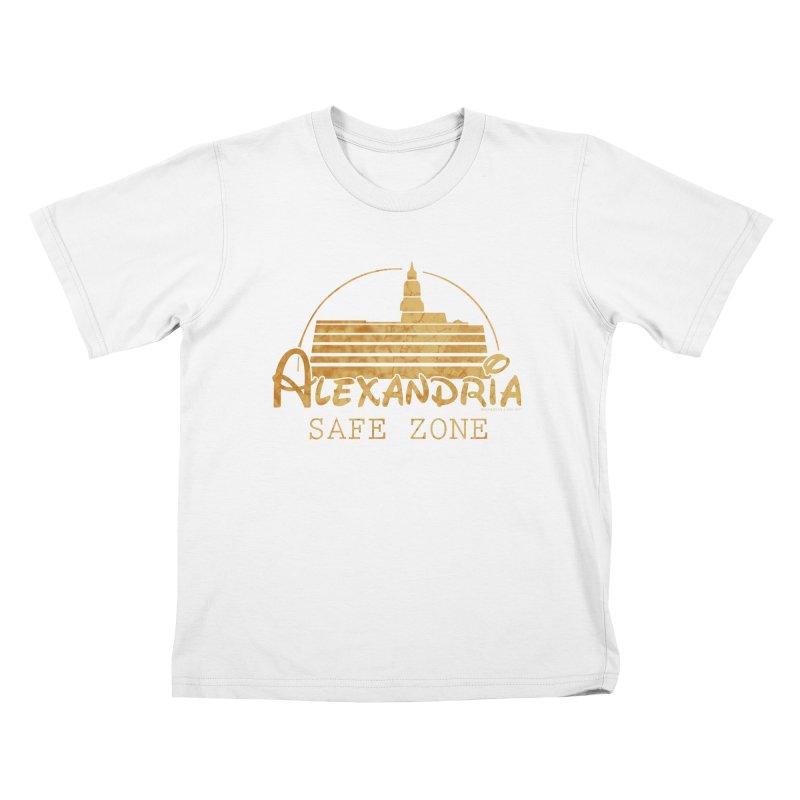 Alexandria Safe Zone Kids T-Shirt by doombxny's Artist Shop