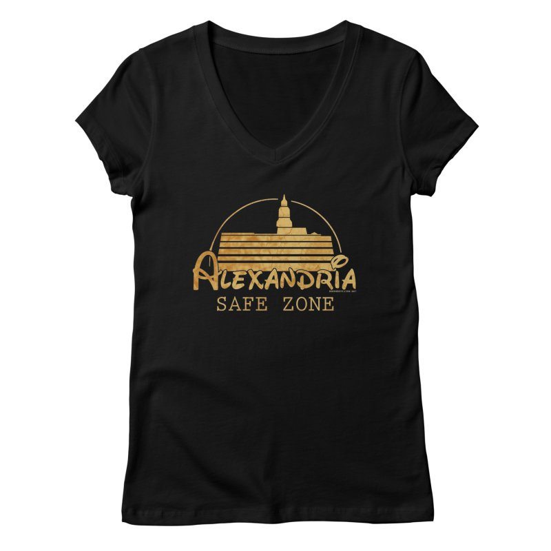 Alexandria Safe Zone Women's V-Neck by doombxny's Artist Shop