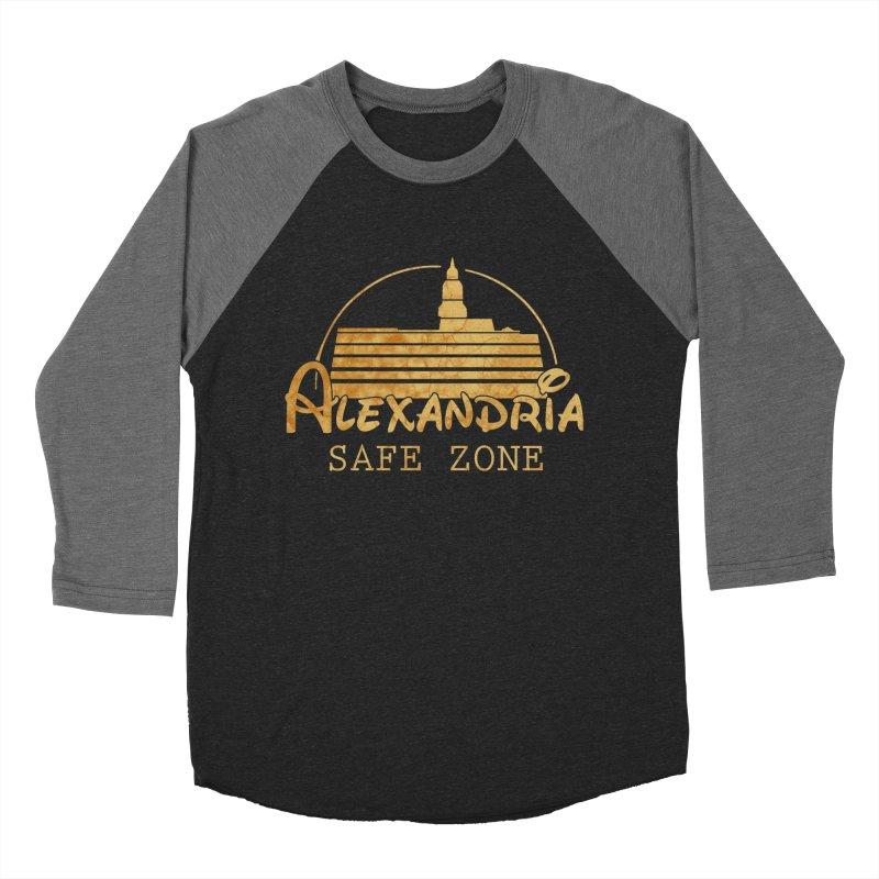 Alexandria Safe Zone Women's Baseball Triblend T-Shirt by doombxny's Artist Shop