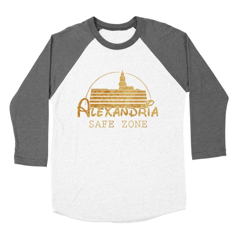 Alexandria Safe Zone Men's Baseball Triblend T-Shirt by doombxny's Artist Shop