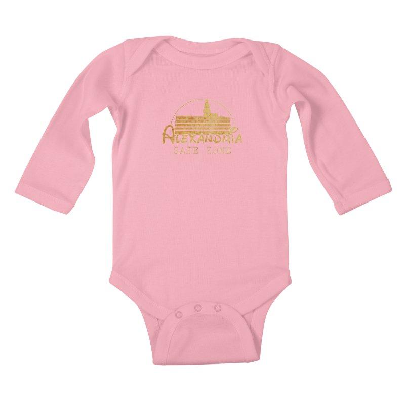 Alexandria Safe Zone Kids Baby Longsleeve Bodysuit by doombxny's Artist Shop