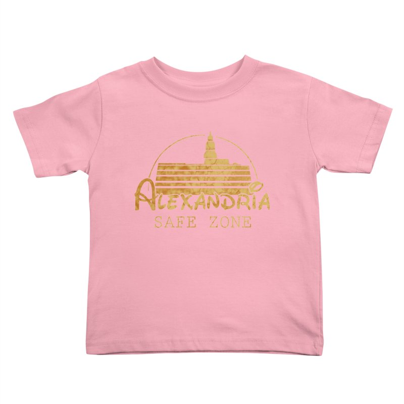Alexandria Safe Zone Kids Toddler T-Shirt by doombxny's Artist Shop