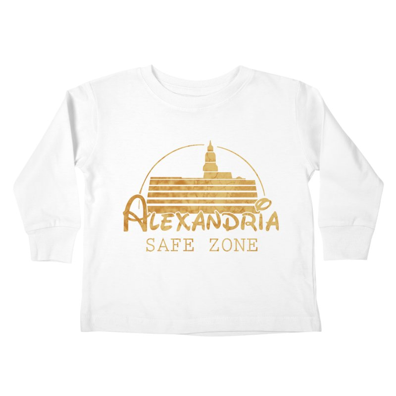 Alexandria Safe Zone Kids Toddler Longsleeve T-Shirt by doombxny's Artist Shop