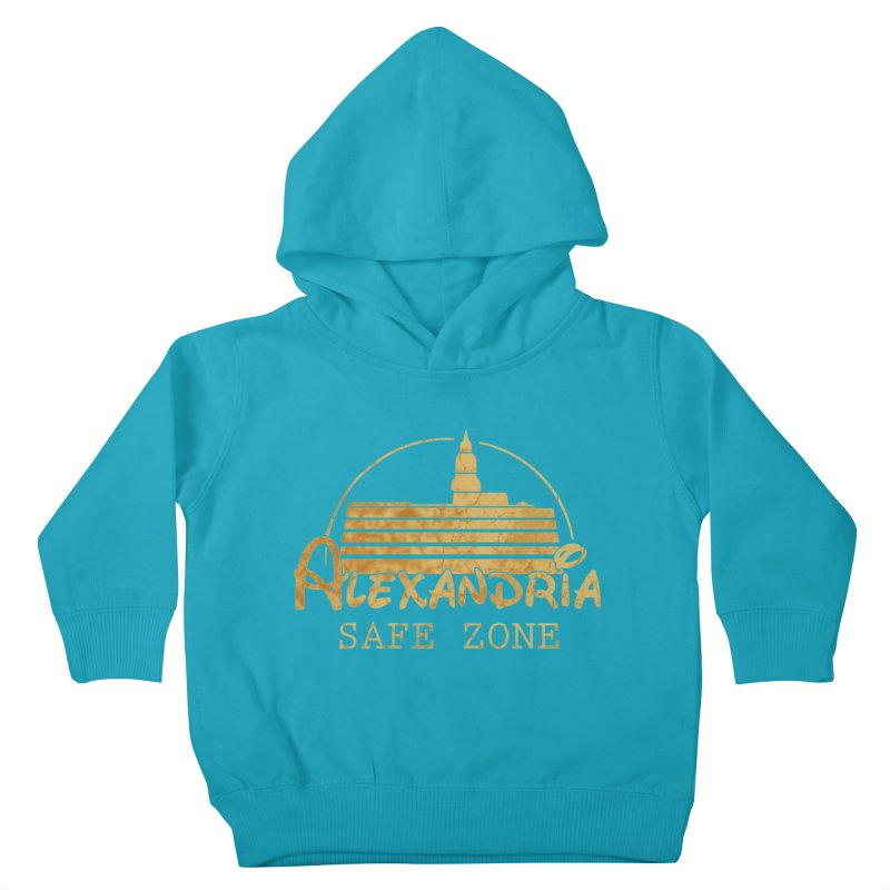 Alexandria Safe Zone Kids Toddler Pullover Hoody by doombxny's Artist Shop
