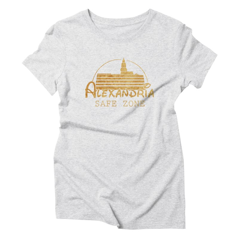 Alexandria Safe Zone Women's Triblend T-Shirt by doombxny's Artist Shop