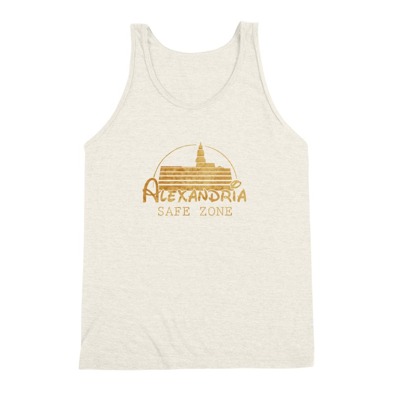 Alexandria Safe Zone Men's Triblend Tank by doombxny's Artist Shop