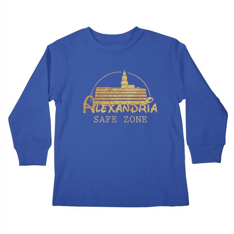 Alexandria Safe Zone Kids Longsleeve T-Shirt by doombxny's Artist Shop