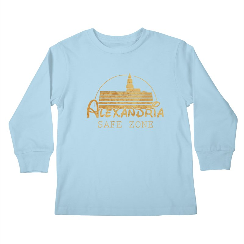 Alexandria Safe Zone Kids Longsleeve T-Shirt by doombxny's Artist Shop