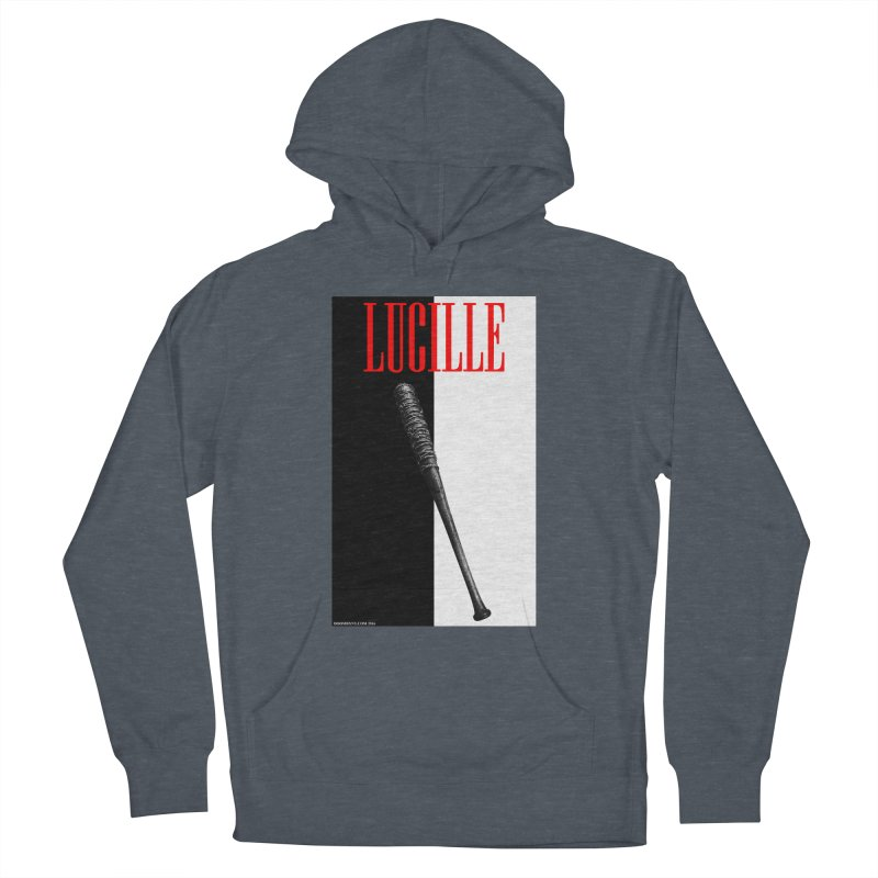 Lucille Face Women's French Terry Pullover Hoody by doombxny's Artist Shop
