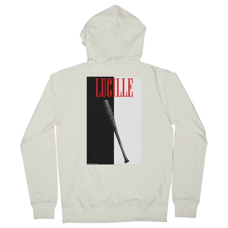 Lucille Face Women's French Terry Zip-Up Hoody by doombxny's Artist Shop