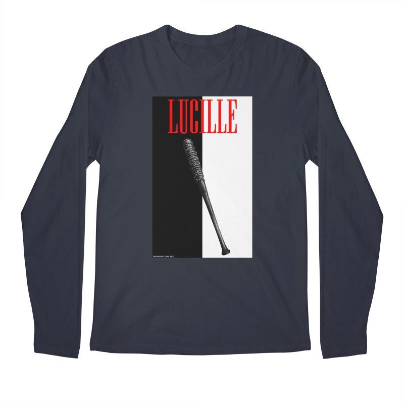 Lucille Face Men's Regular Longsleeve T-Shirt by doombxny's Artist Shop