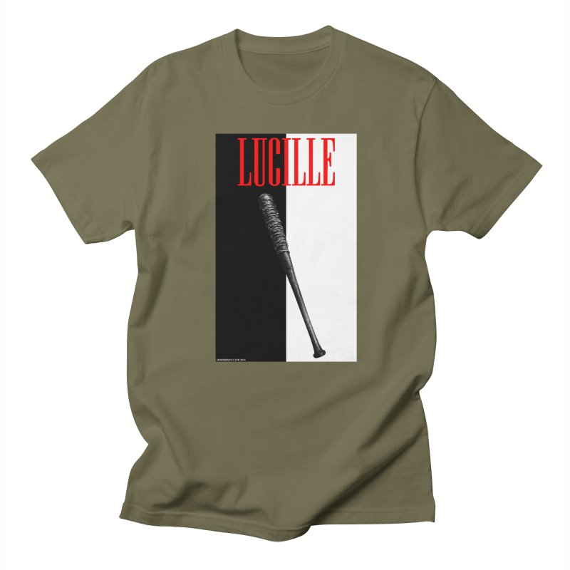 Lucille Face Men's T-Shirt by doombxny's Artist Shop