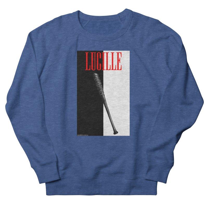 Lucille Face Men's Sweatshirt by doombxny's Artist Shop