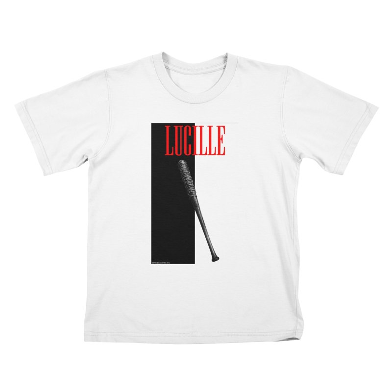 Lucille Face Kids T-Shirt by doombxny's Artist Shop
