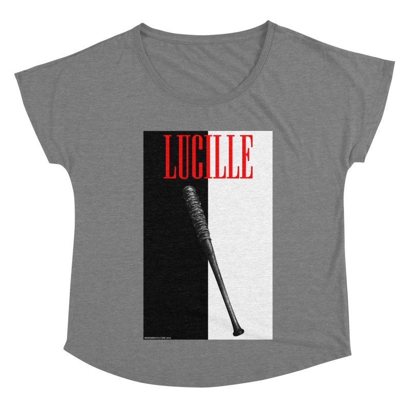 Lucille Face Women's Scoop Neck by doombxny's Artist Shop
