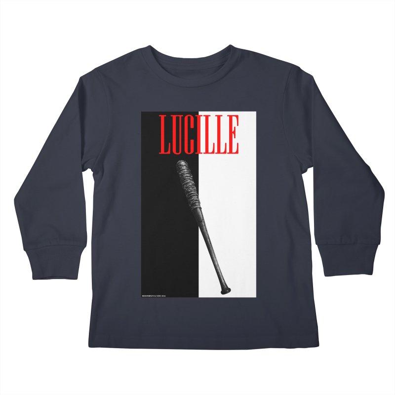 Lucille Face Kids Longsleeve T-Shirt by doombxny's Artist Shop