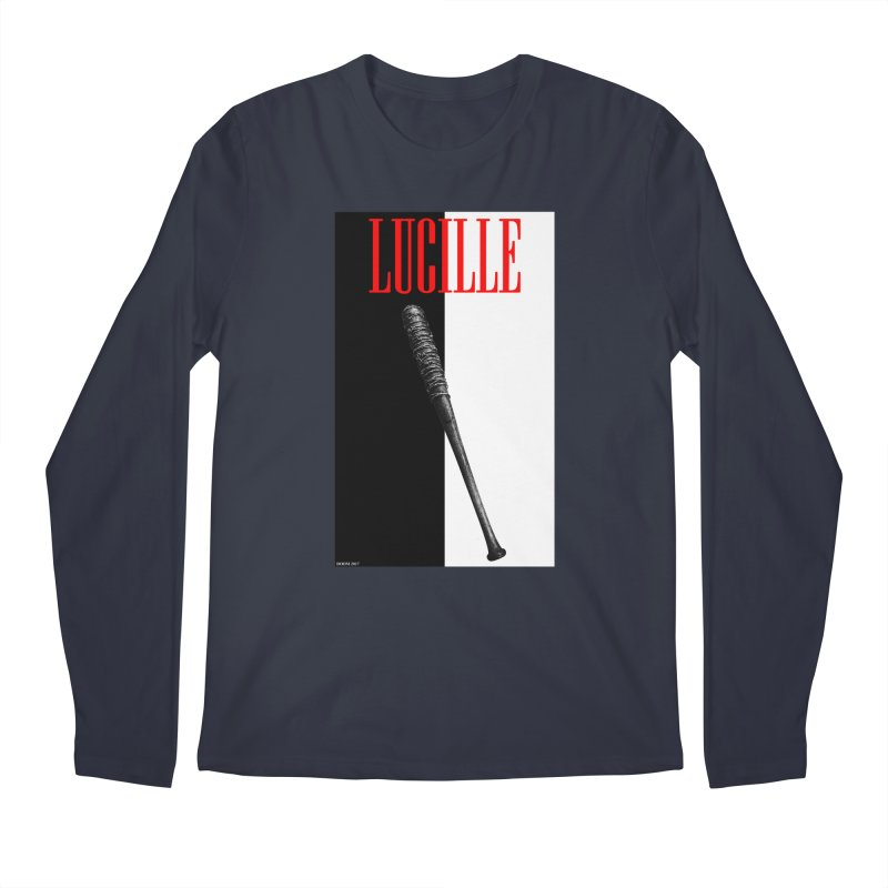 Lucille Face Men's Longsleeve T-Shirt by doombxny's Artist Shop