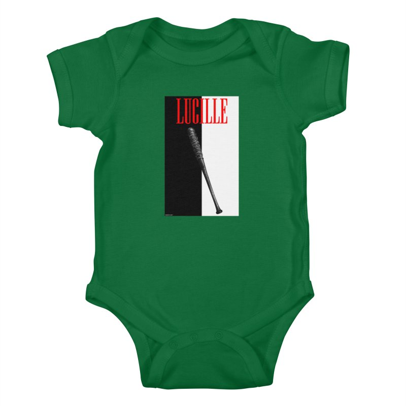 Lucille Face Kids Baby Bodysuit by doombxny's Artist Shop