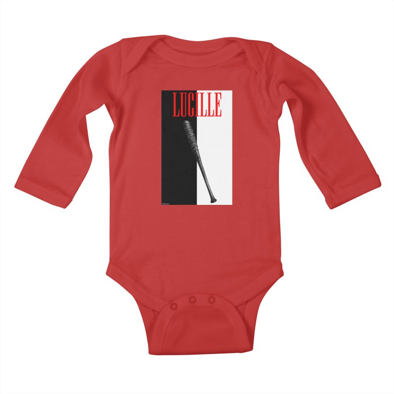 Lucille Face Kids Baby Longsleeve Bodysuit by doombxny's Artist Shop