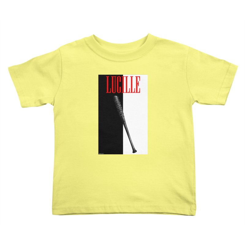 Lucille Face Kids Toddler T-Shirt by doombxny's Artist Shop