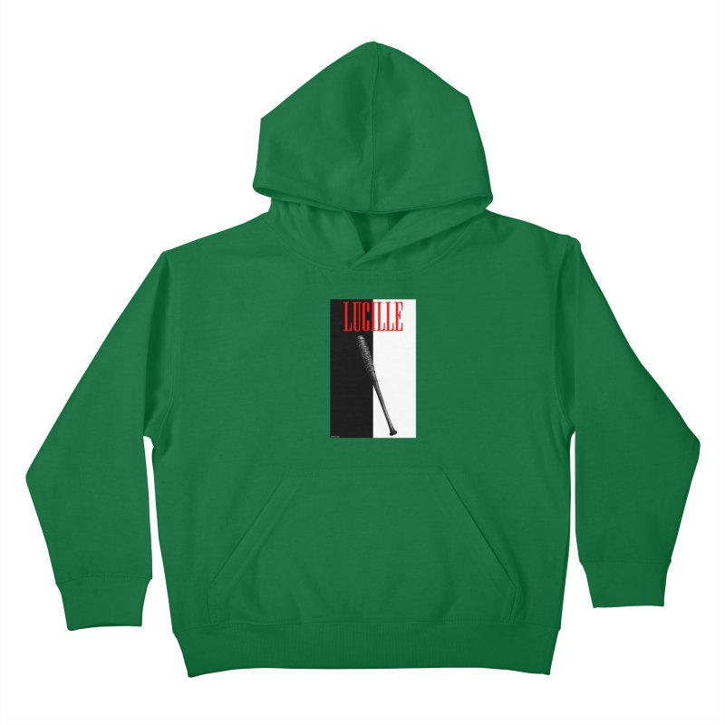 Lucille Face Kids Pullover Hoody by doombxny's Artist Shop