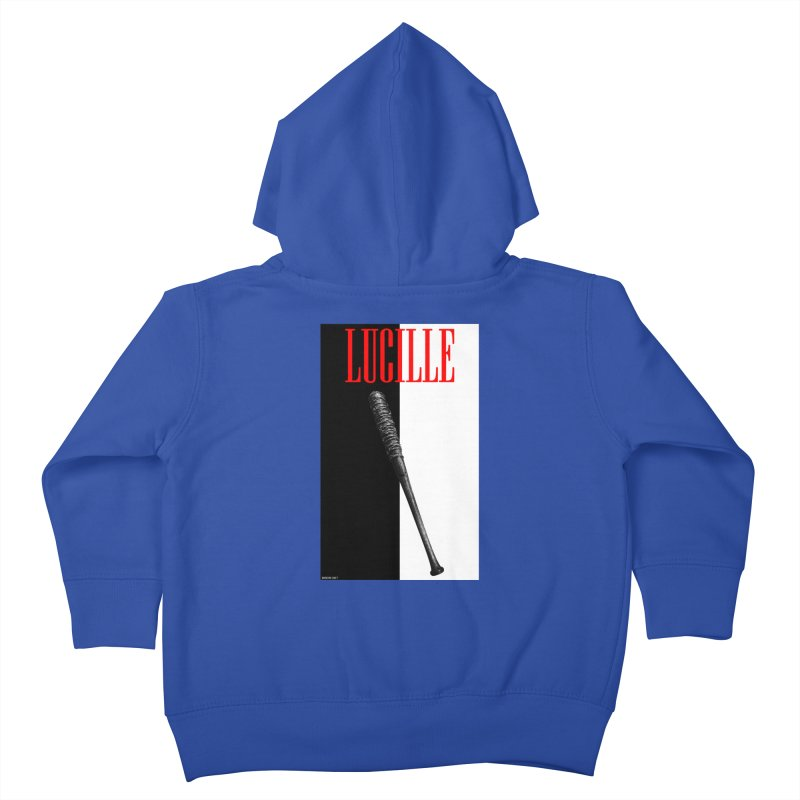 Lucille Face Kids Toddler Zip-Up Hoody by doombxny's Artist Shop