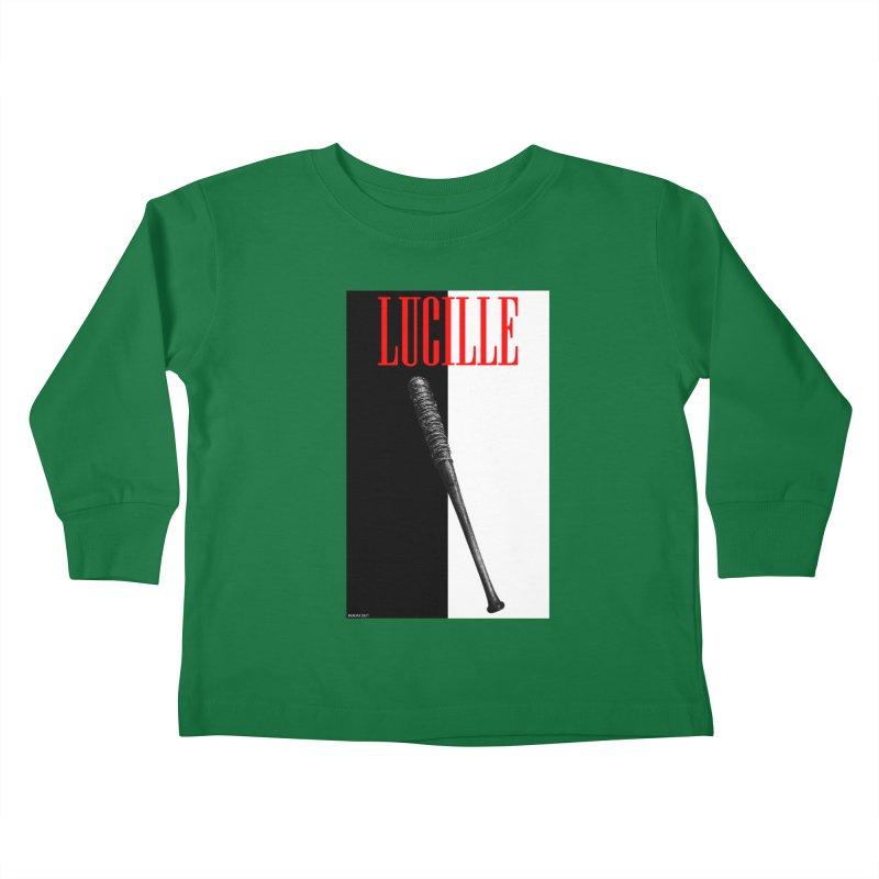 Lucille Face Kids Toddler Longsleeve T-Shirt by doombxny's Artist Shop
