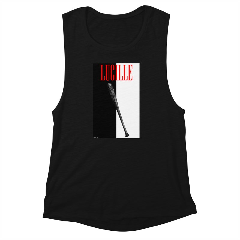 Lucille Face Women's Muscle Tank by doombxny's Artist Shop