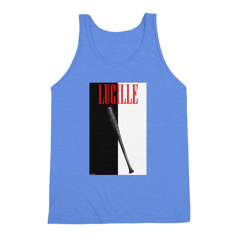 Lucille Face Men's Triblend Tank by doombxny's Artist Shop