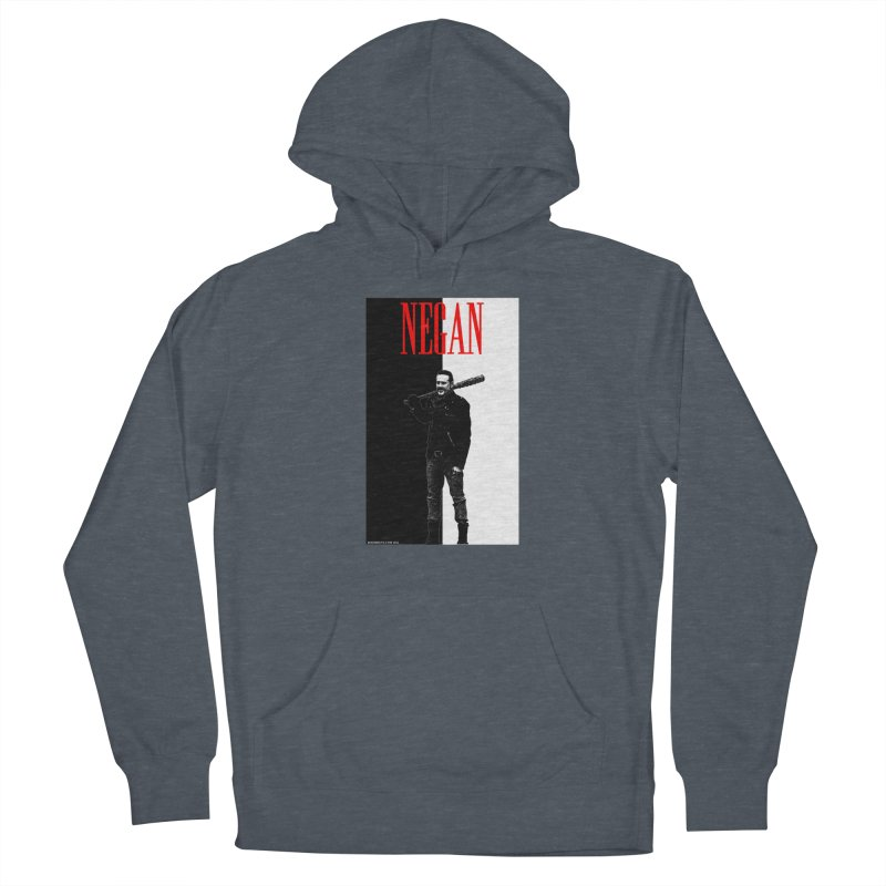 Negan Face Men's Pullover Hoody by doombxny's Artist Shop
