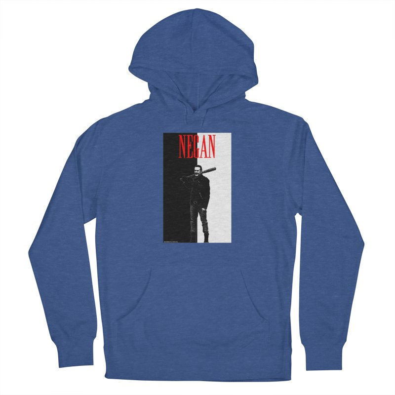 Negan Face Men's Pullover Hoody by doombxny's Artist Shop