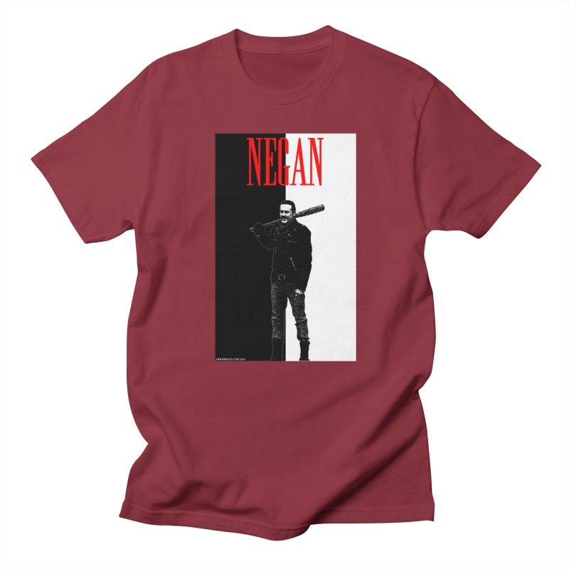 Negan Face Men's T-Shirt by doombxny's Artist Shop