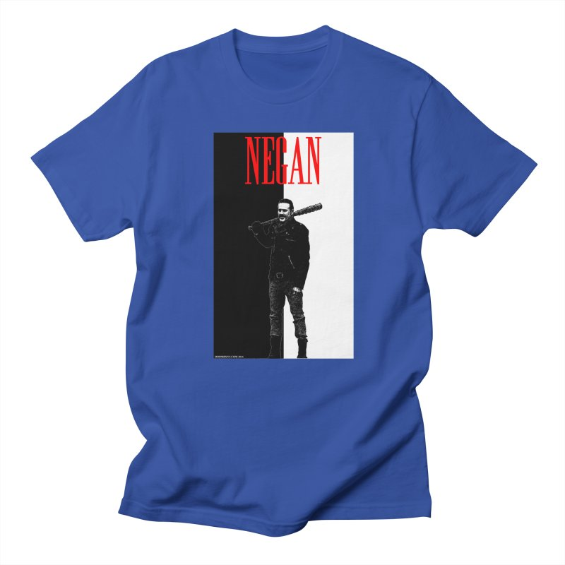 Negan Face Men's T-Shirt by doombxny's Artist Shop