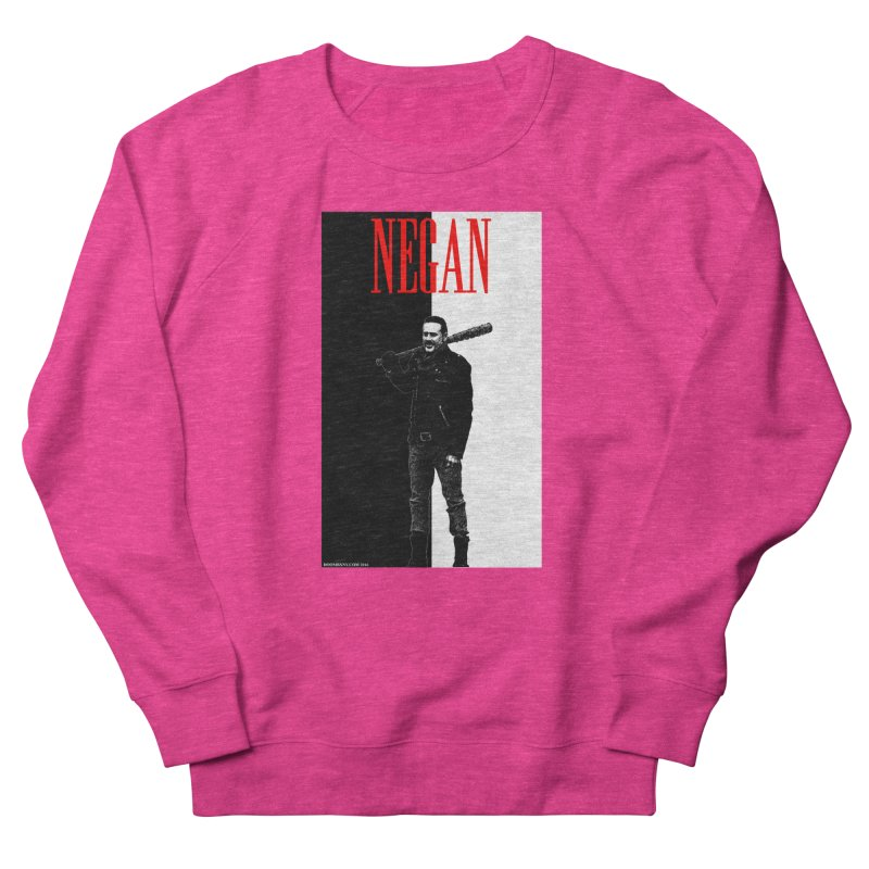 Negan Face Men's Sweatshirt by doombxny's Artist Shop